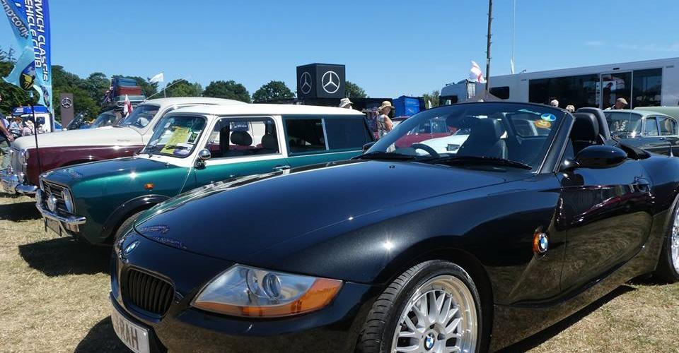 royal norfolk show Z4 and mini